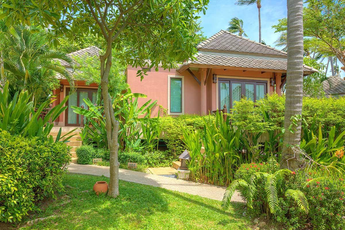 Fair house villas spa in koh samui book boutique for Villa garden